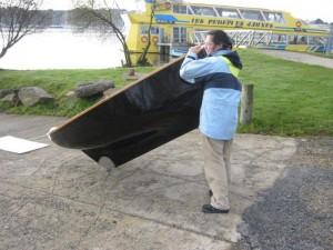 petit voilier transportable