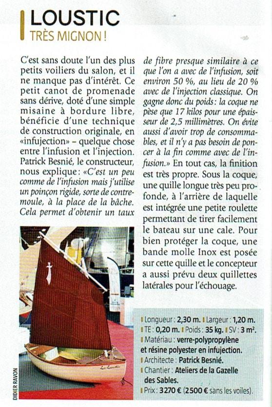 Loustic annexe à voile www.LaGazelleDesSables.com