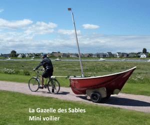 Mini voilier Gazelle des Sables