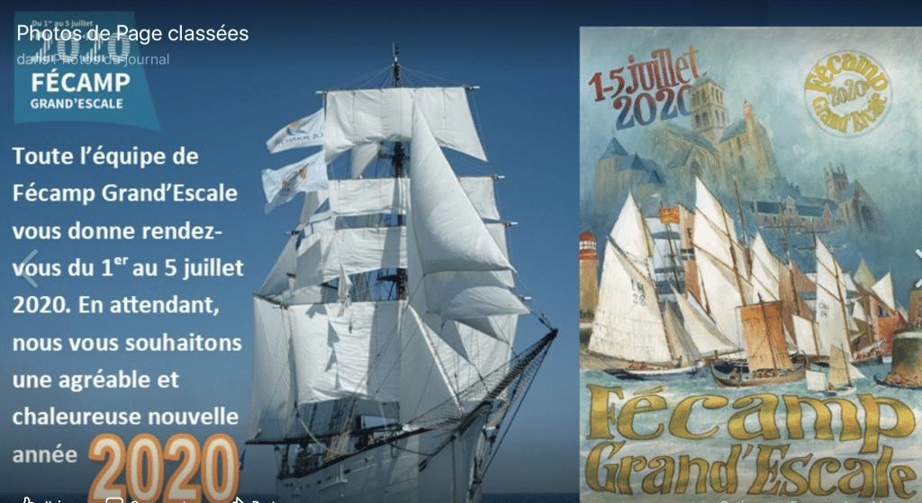 Affiche Fecamp Grand Escale