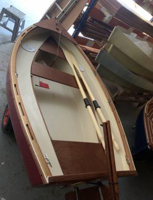 dormir à bord du petit voilier Lascar taille cockpit