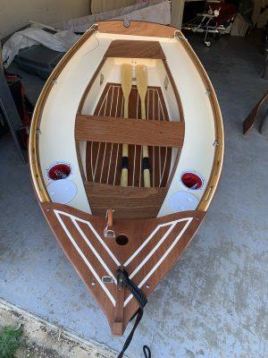 taille cockpit petit voilier Lascar